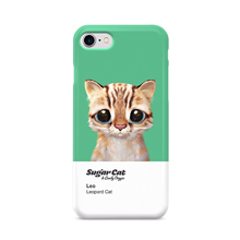 Leo the Leopard cat Colorchip Case